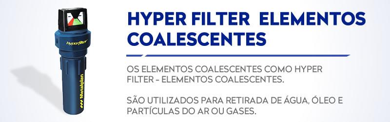 HYPER FILTER - elementos coalescentes