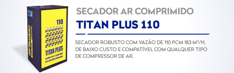 Secador Titan Plus 110